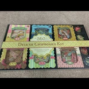 Brand new deluxe chipboard kit with 360 pieces